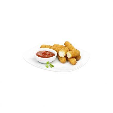 Siera uzkoda, Mozzarellas nūjiņas, panējumā, sald., 2*1kg (35*~28g)