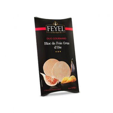 Zosu aknu (foie-gras) bloks Duo, 18*(2*40g), F. Feyel