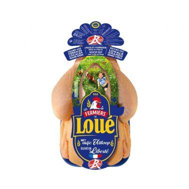 Cālis, vesels, FREE RANGE Label Rouge, atdz., 4*~1.3-1.5kg, Loue
