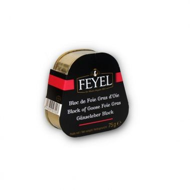 Zosu aknu (foie-gras) bloks, met., 15*75g, F. Feyel