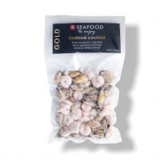Jūras produktu kokteilis (Vannamei garneles, mīdiju gala), sald., vak., 20*200g, R Seafood Gold