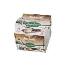 Siers Burrata, kūp., t.s.s. 50%, 8*125g, Deliziosa