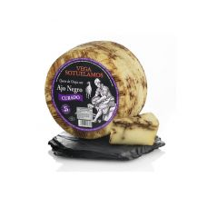 Siers ar melnajiem ķiplokiem no aitas piena, t.s.s. 55%, 16*200g, Vega Sotuelamos