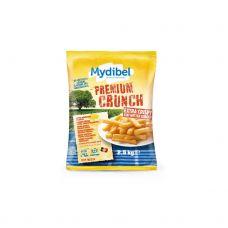 Kartupeļi fri Premium Crunch, 10x10mm, sald., 4*2.5kg, Mydibel