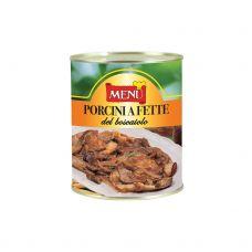 Sēnes baravikas (Porcini), sagr., ar garšvielām, eļļā, 6*810g, Menu