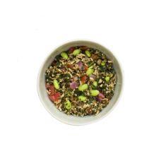 Dārzeņi sagatavoti, darzeņu maisījums ar kvinoju un brūniem risiem Sunny Vibes, IQF, 4*1.25kg, CuisinEasy Premium