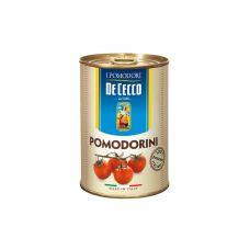Tomāti Cherry, konserv., savā sulā, 12*400g (s.s. 240g), DeCecco