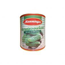 Gurķi, konserv., 55/60, 1*9.7kg (s.s. 5.6kg)