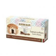 Deserts saldējums kafijas ar pienu Tartufo ar mandeļu gabaliņiem, sald., 8*220g (2*110g), Callipo Gelateria