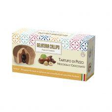 Deserts saldējums lazdu riekstu-šokolādes Tartufo, sald., 8*220g (2*110g), Callipo Gelateria