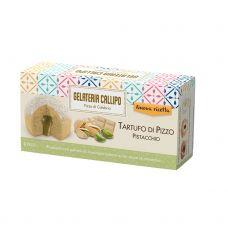 Deserts saldējums pistācijas Tartufo ar baltas šokolādes gabaliņiem, sald., 8*220g (2*110g), Callipo Gelateri