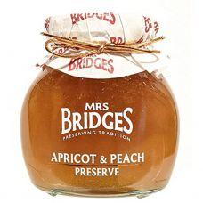 Džems aprikožu-persiku, 6*340g, Mrs Bridges