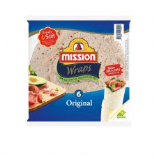 Tortilla Original, 24cm, 10*370g (6gab), Mission