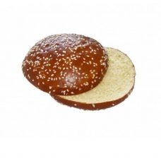 Maizīte Hamburgeru Brioche Pretzel ar sezāmu, griezta, RTE, 60*80g