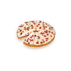 Kūka baltas šokolādes Berry&White, sald., 4*1.4kg (12porc.*117g), Vandemoortele