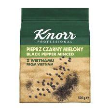 Garšviela pipari melnie, sasmalc., 6*500g, Knorr