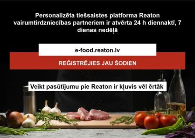 Reaton radījis jaunu un ērtu tiešsaistes pasūtījumu veikšanas platformu